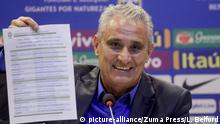 Brasilien Fußball Nationaltrainer Tite