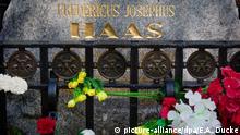 Russland Grab des deutschen Arztes Friedrich-Joseph Haass in Moskau