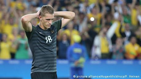 Olympia 2016 Fussball - Deutsche Mannschaft - Nils Petersen (picture alliance/Augenklick/rscp/F. Heinen)