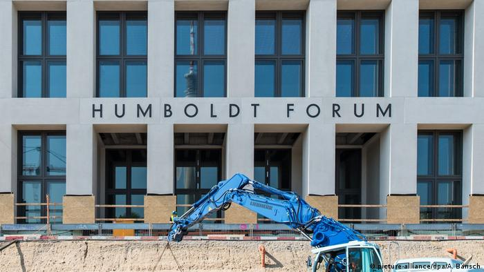 Fassade des Humboldt Forums (picture-alliance/dpa/A. Bänsch)
