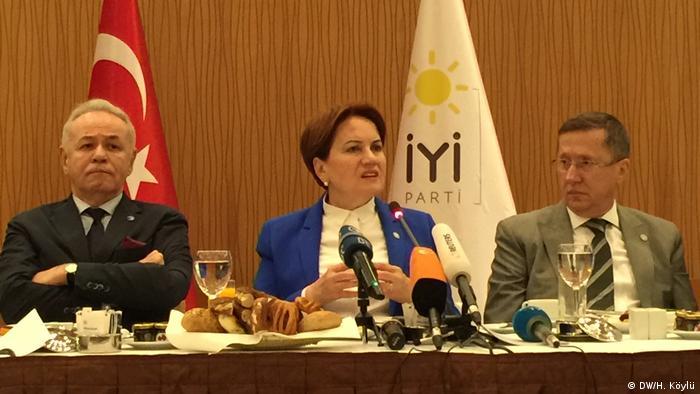 Türkei Meral Aksener, Vorsitzende Iyi Partei & Präsidentschaftskandidatin