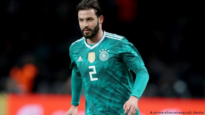 Marvin Plattenhardt didn't make the latest Germany squad