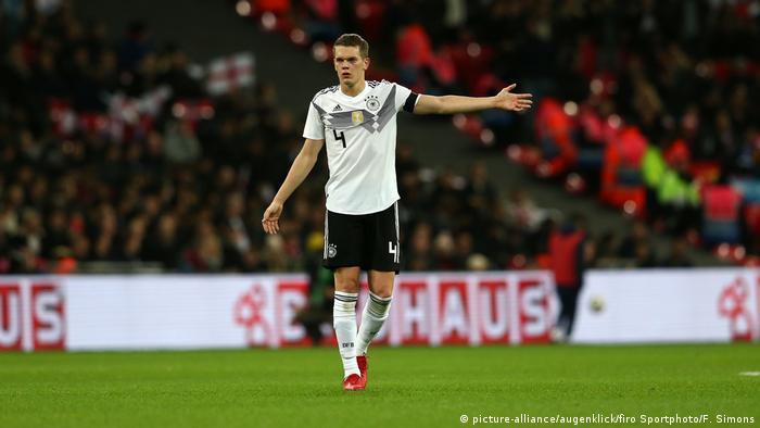 Freunschaftsspiel: England - Deutschland (picture-alliance/augenklick/firo Sportphoto/F. Simons)