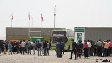 This photo shows a group of Afghan refugees who are deported from Iran at the borderer of Islam Qala in Heart Province, west of Afghanistan on 14.05.2018. Norwegian refugee console (NRC) will build reception halls for deportees at the border. According to IOM a total of 19,058 undocumented Afghans spontaneously returned or were deported from Iran through the Milak (Nimroz) and Herat (Islam Qala) border crossings between 29 Apr—05 May 2018, 7 % less than in the previous week. Of the total deported undocumented Afghans, 3,715 individuals were deported through Islam Qala (Herat) and 7,464 were deported through Milak (Nimroz). This brings the total number of undocumented returnees from Iran since 01 January 2018 to 242,500.