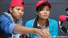 Khayae FM - DW Akademie baut erstes Bürgerradio in Myanmar auf