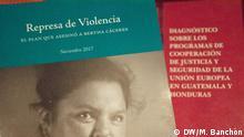 Buchcover - Studie über den Mord an Berta Cáceres