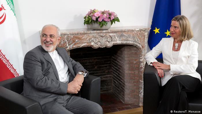 Belgien Brussel - Irans Außenminister Javad Zarif und Federica Mogherini