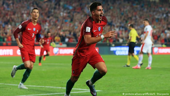 WM-Qualifikation - Portugal v Schweiz: Andre Silva (picture-alliance/Offside/S. Stacpoole)