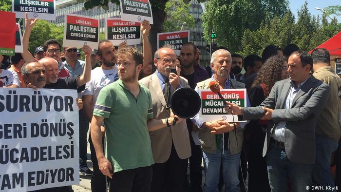 ABD'nin Ankara Büyükelçiliği önündeki protesto gösterisine HDPİzmir MilletvekiliErtuğrul Kürkçü de katıldı.