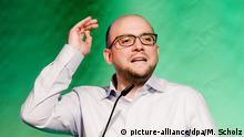Landesmitgliederversammlung der Grünen: Manuel Sarrazin