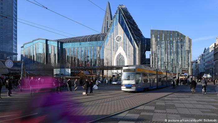 Deutschland Paulinum der Universität in Leipzig (picture-alliance/dpa/H. Schmidt)