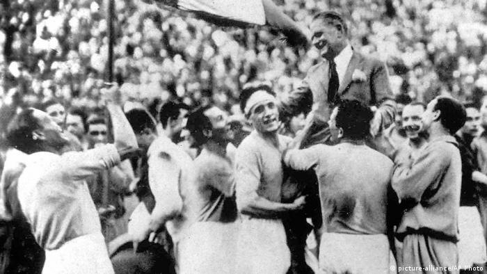Fussball WM 1934 - Italien gewinnt