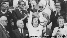 Fussball WM - 1974 West-Deutschland gegen Niederlande