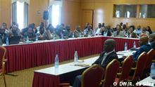 Treffen von Zivilgesellschaft und Politikern zur Dezentralisierung der Regierung in Mosambik Foto: DW/R. da Silva