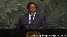 USA New York - Joseph Kabila Kabange in den UN Headquarters