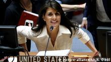 UN Sicherheitsrat Sondersitzung Gaza Nikki Haley