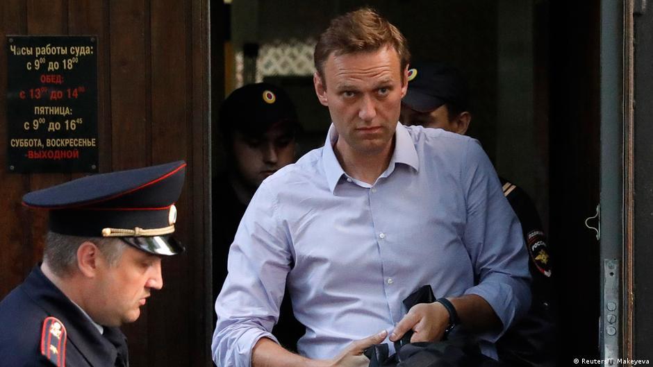 Moskau Twerskoi Gericht Alexei Nawalny