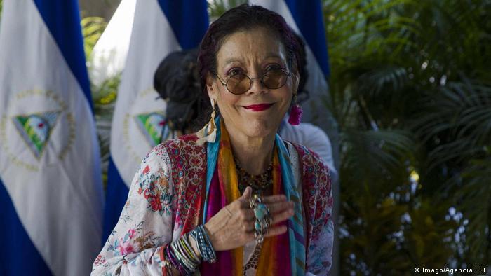 Nicaragua Vize-Präsidentin Rosario Murillo (Imago/Agencia EFE)