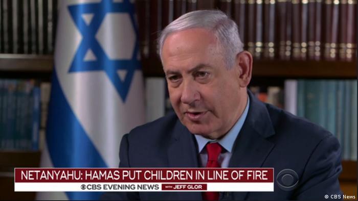 CBS Interview mit Benjamin Netanjahu Gaza Tote (CBS News)