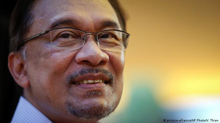 Anwar Ibrahim (picture-alliance/AP Photo/V. Thian)