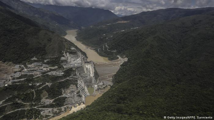 Kolumbien Cauca Hydroituango Hydroelctric Projekt Überschwemmungen (Getty Images/AFP/J. Sarmiento)