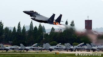 Südkorea Luftwaffenstützpunkt Gwangju (Reuters/Yonhap)