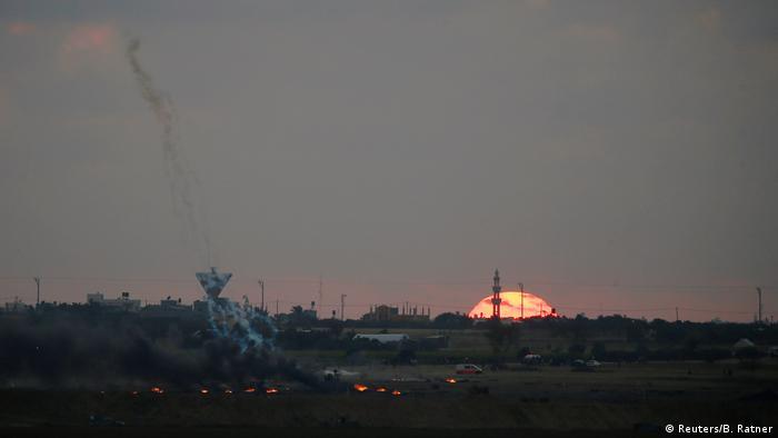 Боевики в Газе подвергли Израиль минометному обстрелу
