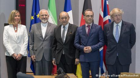 Various EU foreign ministers and their Iranian counterpart meet in Belgium