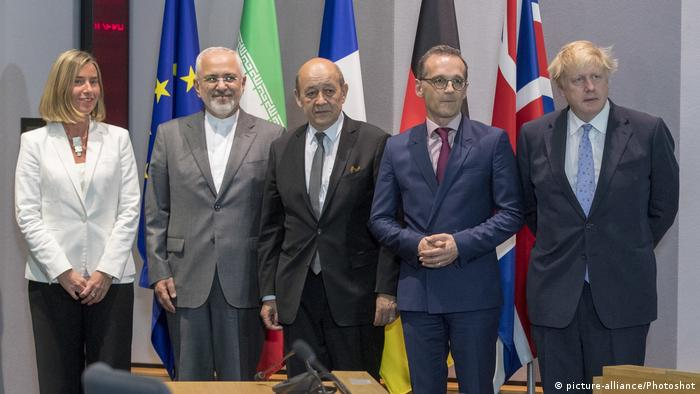 EU and member state ministers met with Iran's foreign minister in May