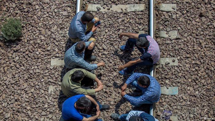 Iran Protest der HEPCO-Arbeiter (isna)