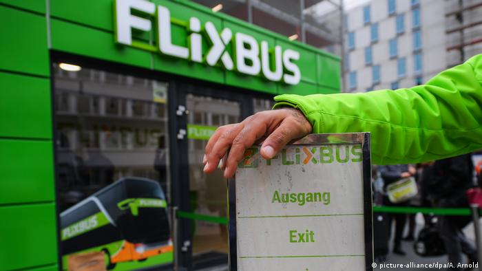 Flixbus office in Frankfurt (picture-alliance/dpa/A. Arnold)