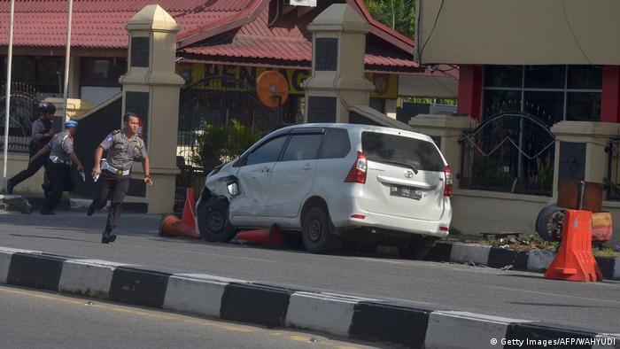 Indonesien Riau Anschlag (Getty Images/AFP/WAHYUDI)