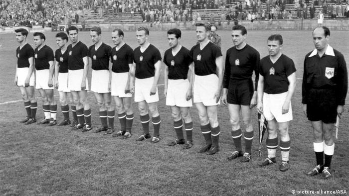 Сборная Венгрии, 1954 год