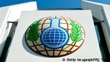 OPCW Logo (Getty Images/AFP/J. Thys)