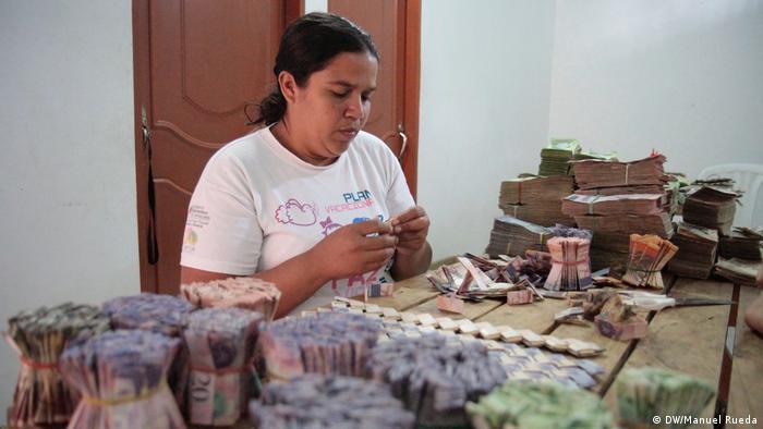 Curcuta, Kolumbien - Folgen der Hyperinflation in Venezuela