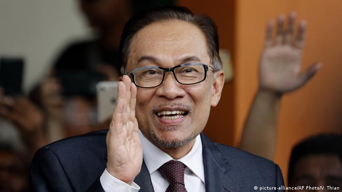 Anwar Ibrahim (picture-alliance/AP Photo/V. Thian)