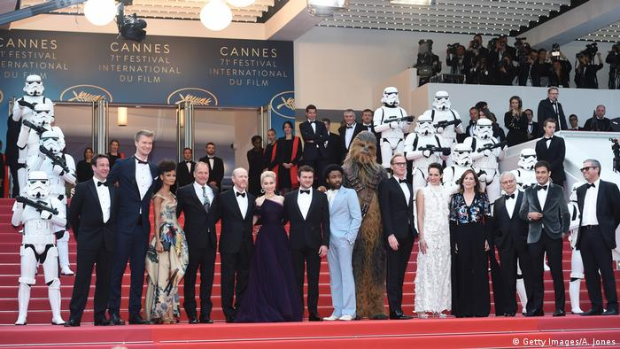 Frankreich Cannes Premiere Solo: A Star Wars Story (Getty Images/A. Jones)