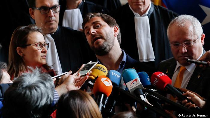 Каталонські політики, яких бельгійський суд відмовився видати Іспанії