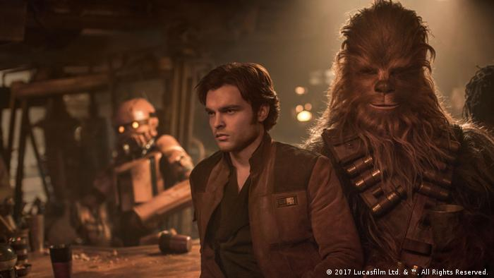 Han Solo und Chewbacca (2017 Lucasfilm Ltd. & ™, All Rights Reserved. )