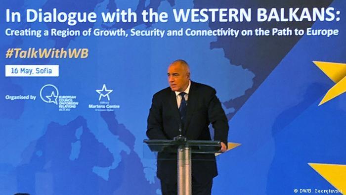 Bulgarien EU Gipfel Boiko Borissow