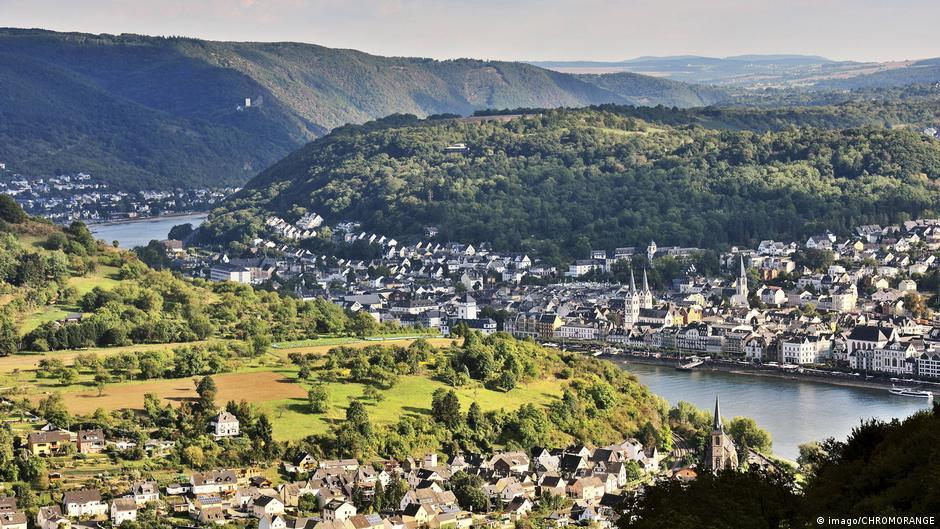 Долина Рейна - мировое наследие ЮНЕСКО