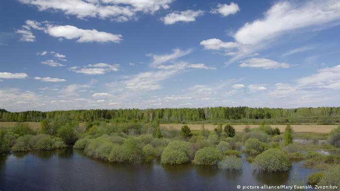 Russland Tura-Fluss Ural (picture-alliance/Mary Evans/A. Zvoznikov)
