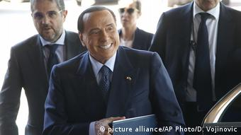 Bulgarien EU-Balkan-Gipfel in Sofia | Silvio Berlusconi (picture alliance/AP Photo/D. Vojinovic)