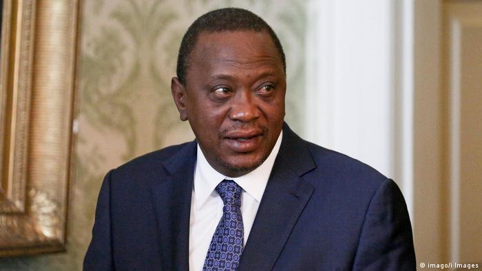 Kenya's Uhuru Kenyatta