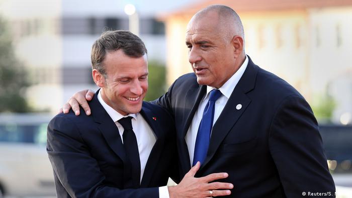 Макрон и Борисов в София