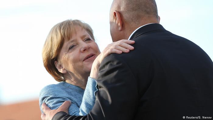 Борисов посреща Меркел