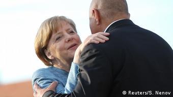 Bulgarien EU-Balkan-Gipfel in Sofia | Borisov und Merkel (Reuters/S. Nenov)