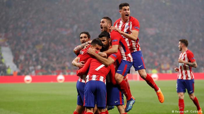 UEFA Europa League Finale Marseille gegen Atletico Madrid (Reuters/P. Cziborra)