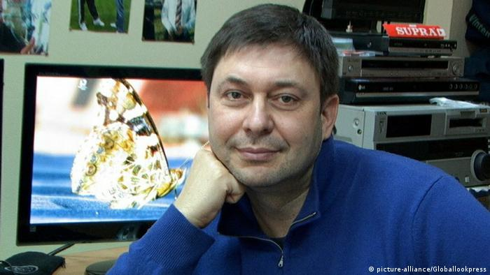 Kirill Vyshinsky Russian jourmalist