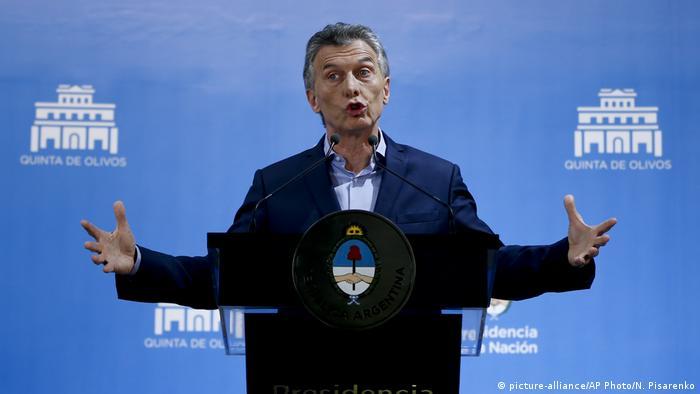 Arjantin IMF'ten yardım istedi